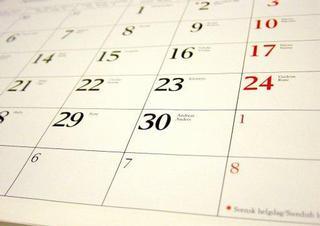 kalendář, datum