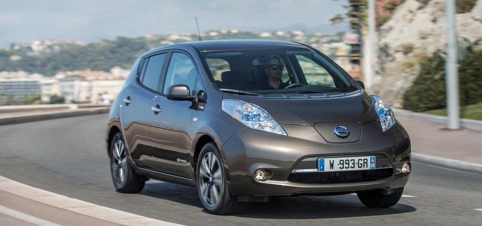 Modernizovaný Nissan Leaf