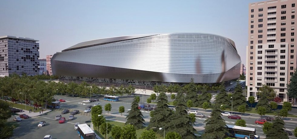 Vizualizace rekonstrukce stadionu Realu Madrid