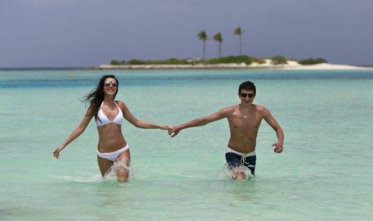 Maledivy patří k místům se stálým podnebím.