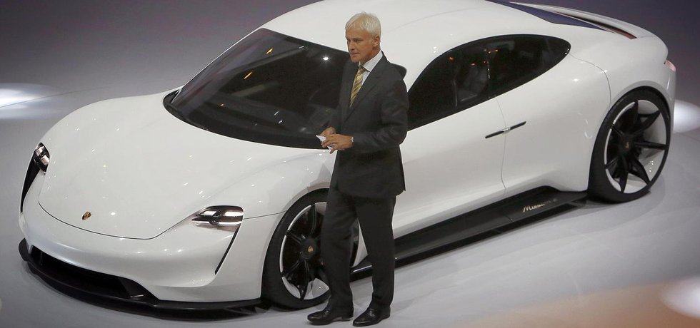 Šéf automobilové skupiny Volkswagen Matthias Müller