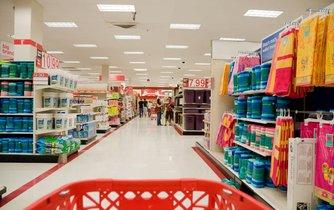 Prodejna amerického maloobchodního řetězce Target v Miami