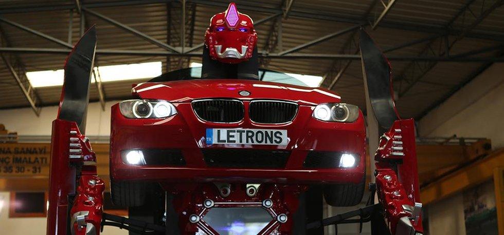 Transformer Antimon od tureckého startupu LETRONS