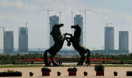 Ordos - největší město duchů v Číně