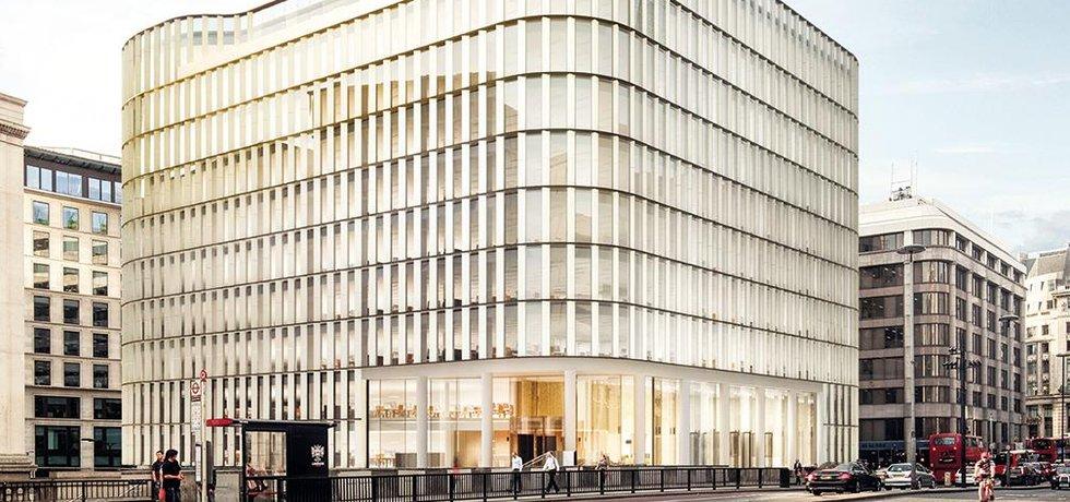 londýnská budova 33 Central společnosti HB Reavis