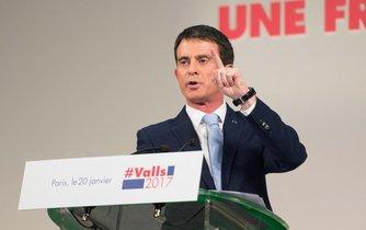 Favoritem levice pro nadcházející prezidentské volby ve Francii je bývalý premiér země Manuel Valls.