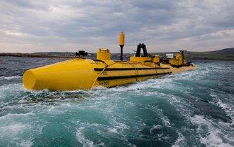 Přílivová turbína u Orknejských ostrovů
