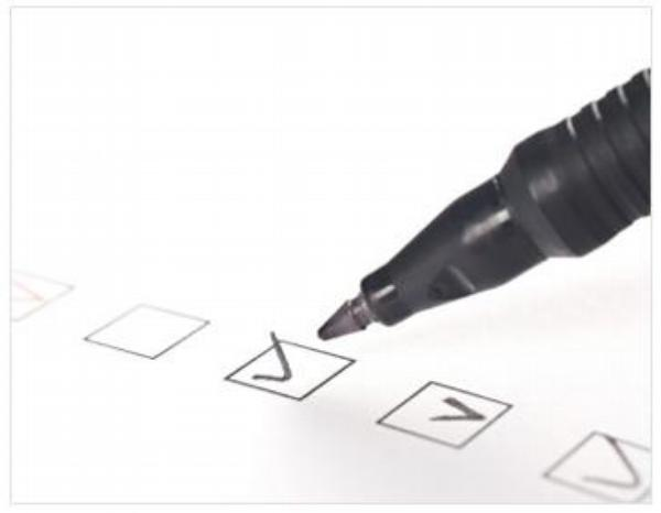 dotazník, hodnocení, pero