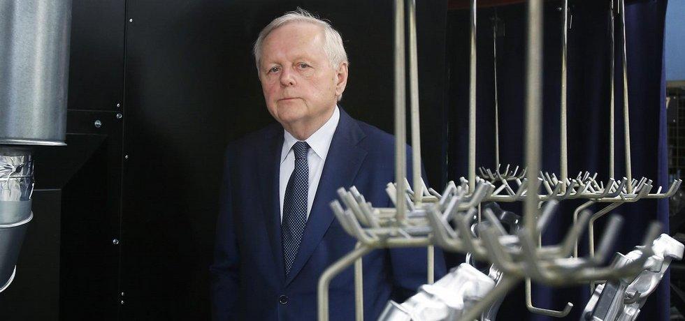 Miroslav Jelínek, šéf firmy Strojmetal