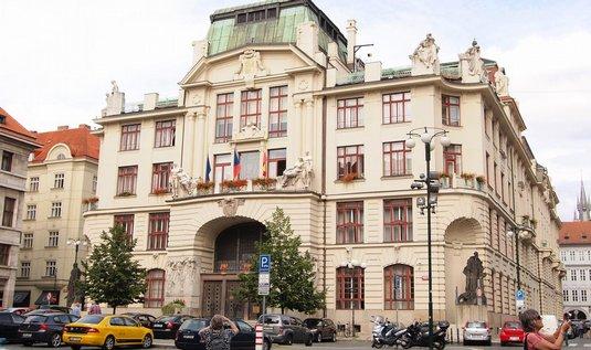 Pražská radnice.