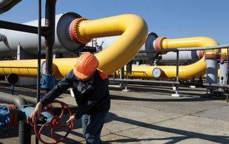 Uzávěr plynovodu, ilustrační foto