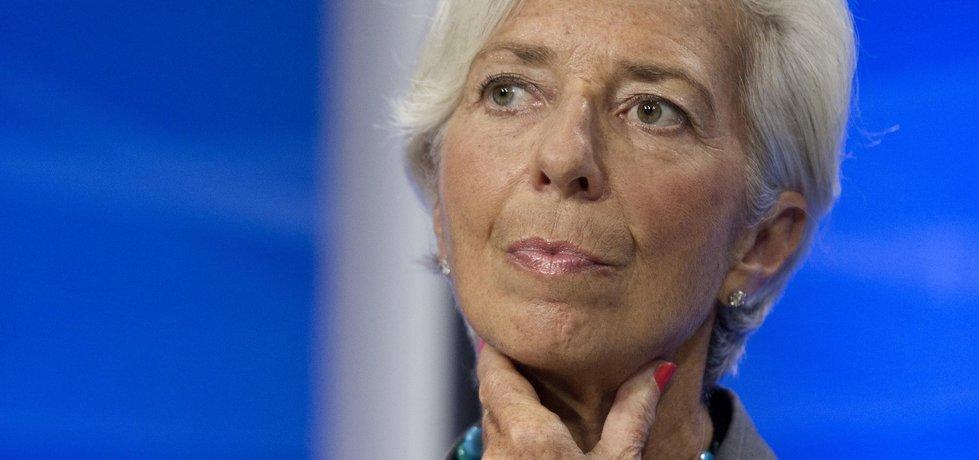 Šéfka MMF Christine Lagardeová (Zdroj: ČTK)