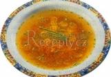 Nudlová polévka s mrkví