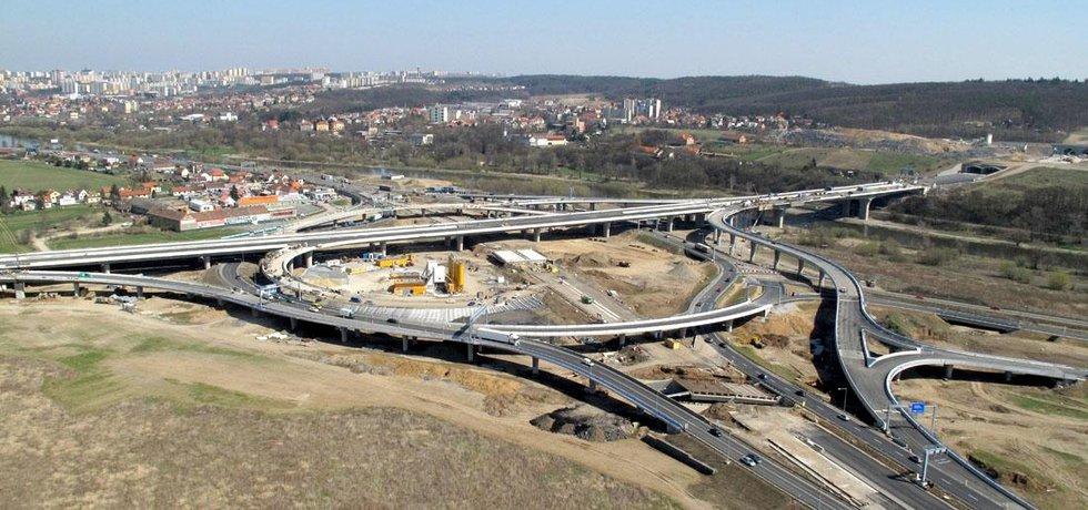 Stavba Pražského okruhu (ilustrační foto)