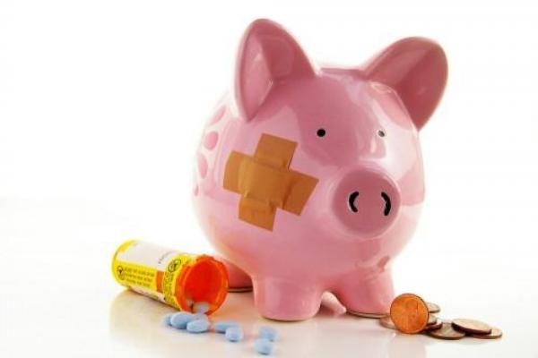 peníze, léky