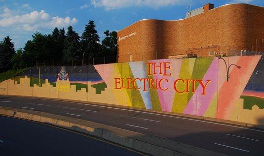 """Americké město Scranton přezdívané """"Electric City"""""""