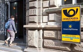 Pobočka hlavní pošty v pražské Jindřišské ulici