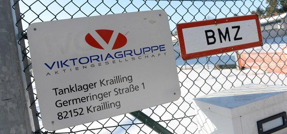 Sklad Viktoriagruppe v německém Kraillingu