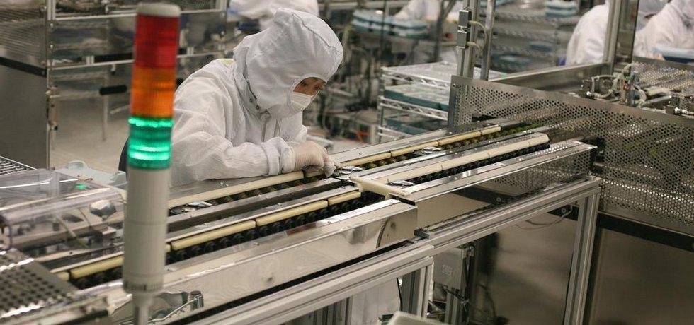 Čína, výroba, ilustrační foto