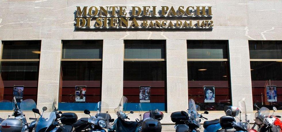 Bankovní dům Monte Dei Paschi v Miláně