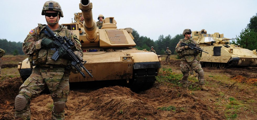 Jednotky americké armády (na snímku) v Litvě