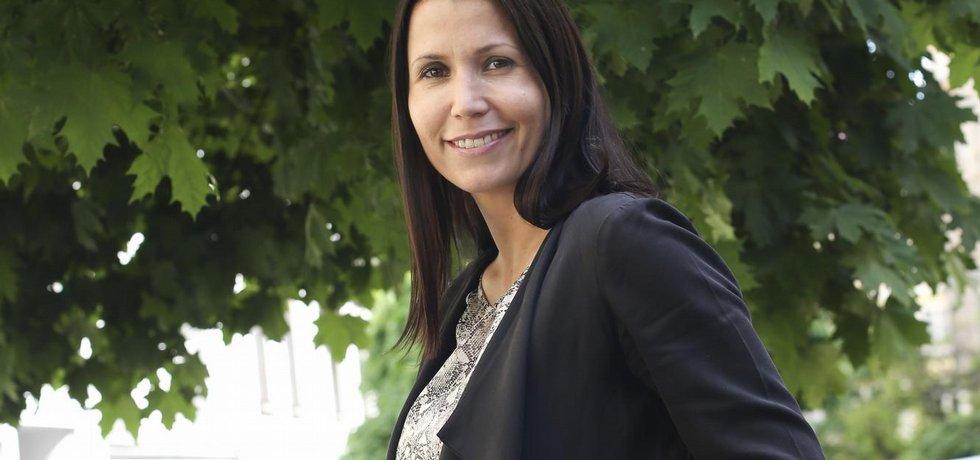 Ředitelka české pobočky skupiny Alma CG, Kristína Šumichrastová.