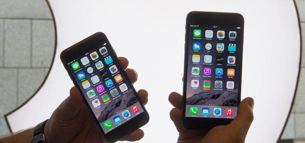 Nové telefony iPhone 6 a iPhone 6 Plus se začnou v Česku prodávat 24. října 2014