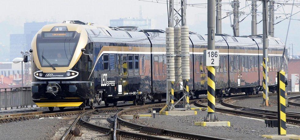 doprava, železnice, Leo Express