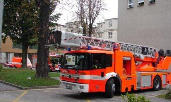 Požár v ostravské nemocnici