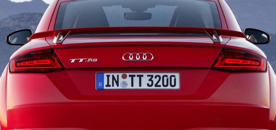 Audi TT RS Coupé 2016
