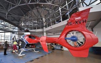 Na Vysočině zajišťuje od 1. ledna provoz letecké záchranné služby vrtulník rakouské společnosti Helikopter Air Transport