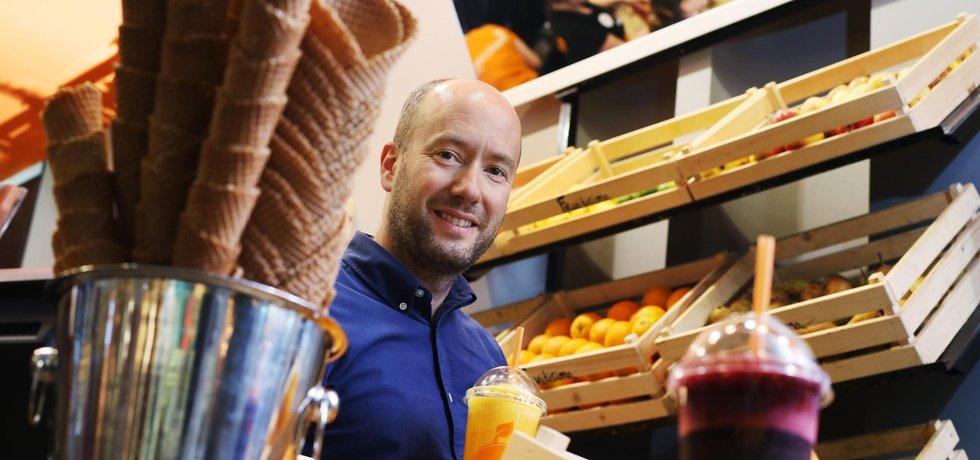 Podnikatel Jan Hummel ze sítě Fruitisimo