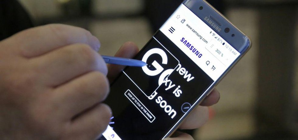 Samsung Galaxy Note 7 (Zdroj ČTK