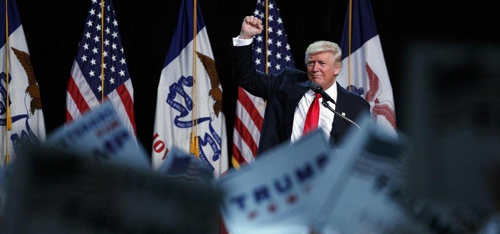 Americký prezidentský kandidát Donald Trump (Zdroj: čtk)