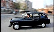 Londýnské taxi, ilustrační foto