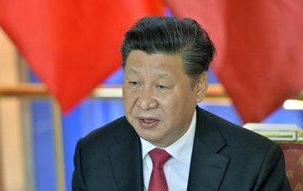 Čínský prezident na návštěvě v Praze