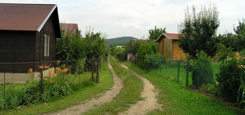 Zahrádkářská kolonie na Zbraslavi