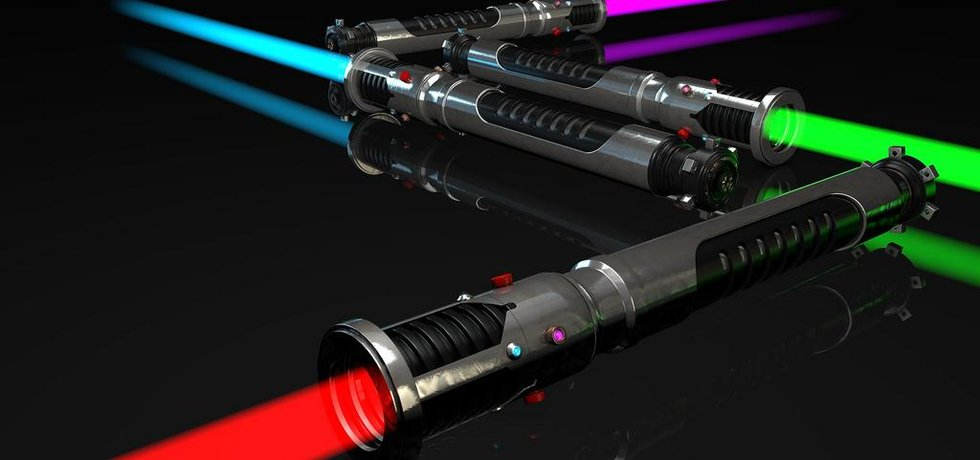Světelné meče, ilustrační foto (Autor: Remco van der meer, CC BY 2.0, Flickr)