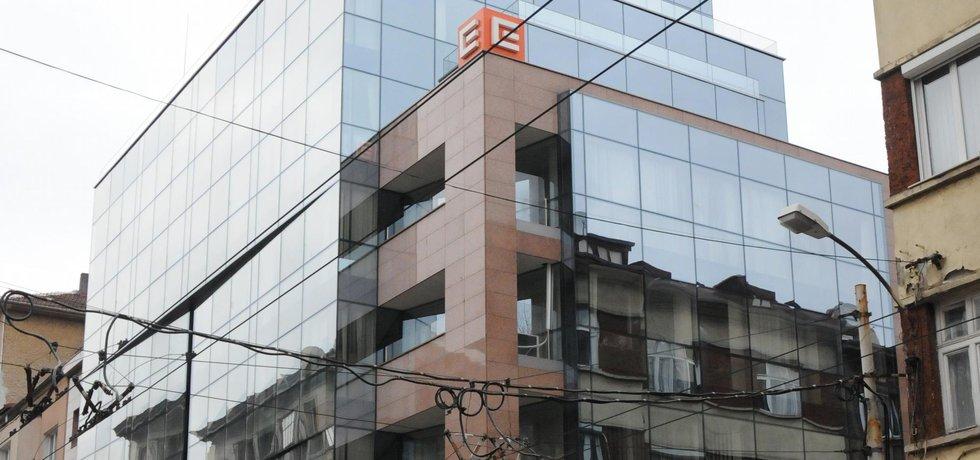 Budova ČEZ v Sofii