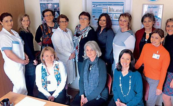 Mezinárodní spolupráce českých sester v rámci kontroly tabáku