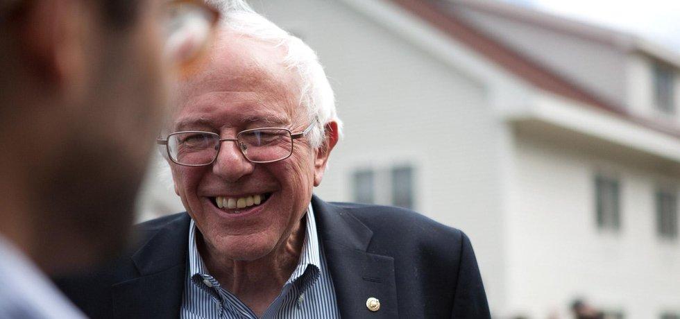 Bernie Sanders chce přinést revoluci.