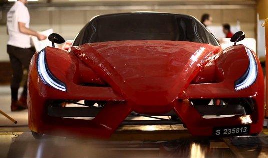 Šlapací Ferrari FXX