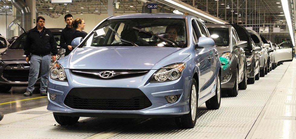 Nošovická automobilka Hyundai