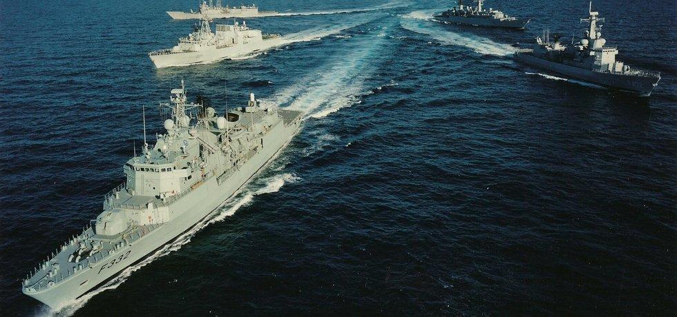 Lodě NATO, ilustrační foto