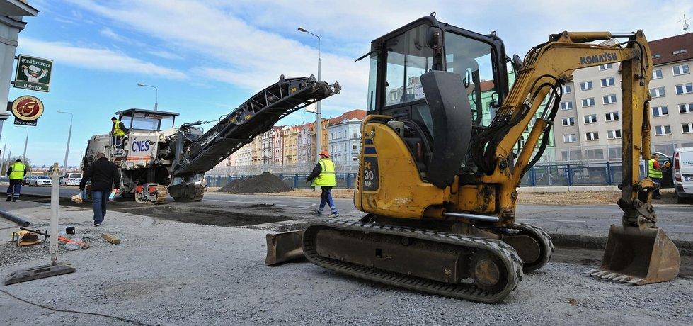 Ilustrační foto stavebnictví