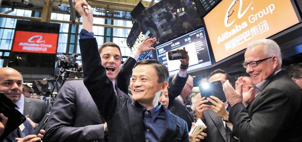 Jack Ma, šéf Alibaby