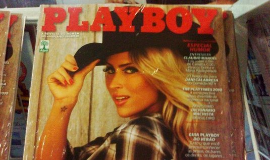  Playboy, ilustran foto