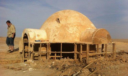 Oprava domu z Hvězdných válek
