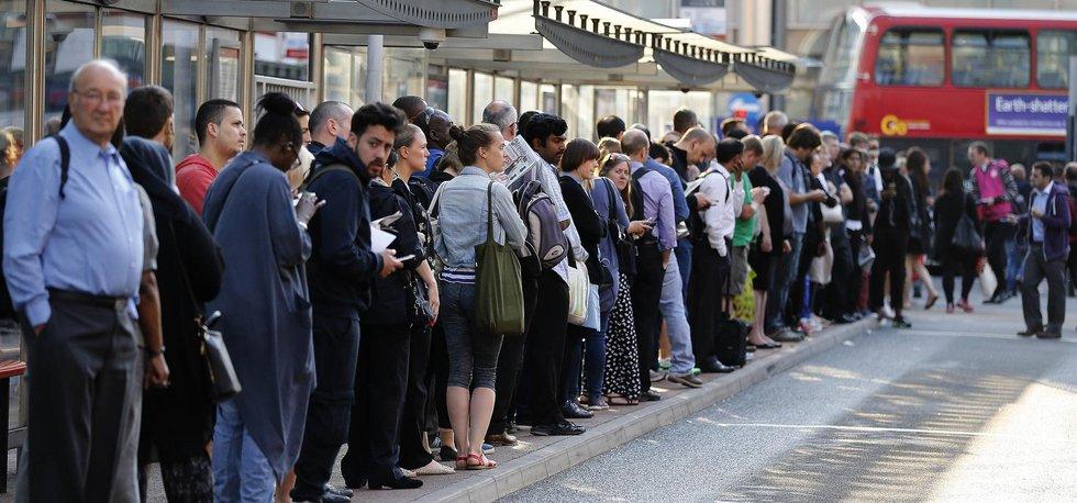 Londýnskou dopravu ochromila stávka metra
