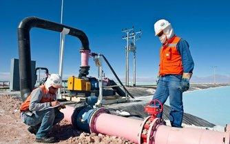 Těžba lithia (ilustrační foto)